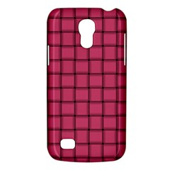 Dark Pink Weave Samsung Galaxy S4 Mini Hardshell Case