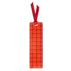Ferrari Red Weave Small Bookmark