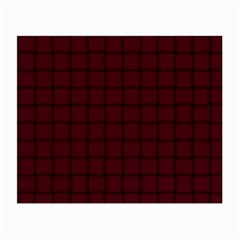 Dark Scarlet Weave Glasses Cloth (Small)