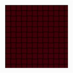 Dark Scarlet Weave Glasses Cloth (Medium, Two Sided)