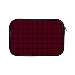 Dark Scarlet Weave Apple iPad Mini Zipper Case