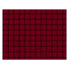 Burgundy Weave Jigsaw Puzzle (rectangle)