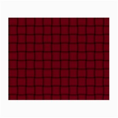 Burgundy Weave Glasses Cloth (Small, Two Sided)