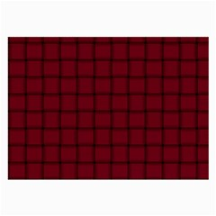 Burgundy Weave Glasses Cloth (large)