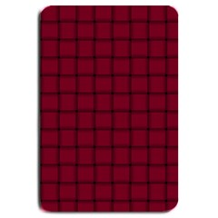Burgundy Weave Large Door Mat
