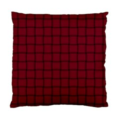 Burgundy Weave Cushion Case (two Sides)