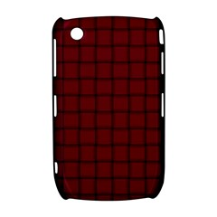 Burgundy Weave BlackBerry Curve 8520 9300 Hardshell Case