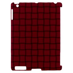 Burgundy Weave Apple iPad 2 Hardshell Case (Compatible with Smart Cover)