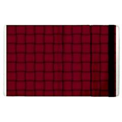 Burgundy Weave Apple iPad 3/4 Flip Case