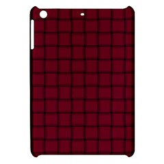 Burgundy Weave Apple Ipad Mini Hardshell Case