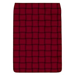 Burgundy Weave Removable Flap Cover (large)