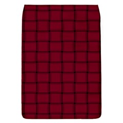 Burgundy Weave Removable Flap Cover (small)