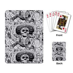 Calavera Oaxaquea By José Guadalupe Posada 1903 Playing Cards Single Design