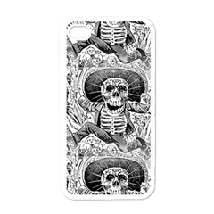 Calavera Oaxaquea By José Guadalupe Posada 1903 Apple iPhone 4 Case (White)