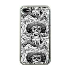 Calavera Oaxaquea By José Guadalupe Posada 1903 Apple iPhone 4 Case (Clear)