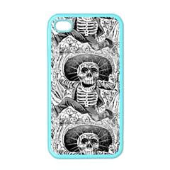 Calavera Oaxaquea By José Guadalupe Posada 1903 Apple iPhone 4 Case (Color)