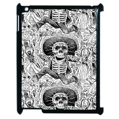 Calavera Oaxaquea By José Guadalupe Posada 1903 Apple iPad 2 Case (Black)