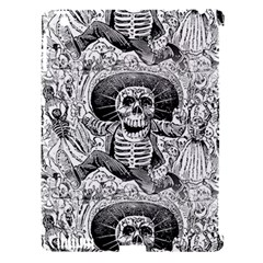 Calavera Oaxaquea By José Guadalupe Posada 1903 Apple iPad 3/4 Hardshell Case (Compatible with Smart Cover)