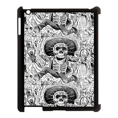 Calavera Oaxaquea By José Guadalupe Posada 1903 Apple iPad 3/4 Case (Black)