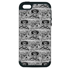 Calavera Oaxaquea By José Guadalupe Posada 1903 Apple iPhone 5 Hardshell Case (PC+Silicone)