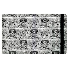 Calavera Oaxaquena by José Guadalupe Posada 1903 Apple iPad 2 Flip Case