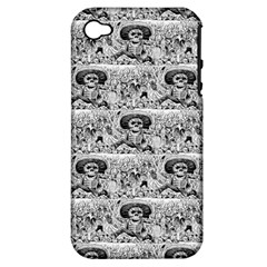 Calavera Oaxaquena by José Guadalupe Posada 1903 Apple iPhone 4/4S Hardshell Case (PC+Silicone)