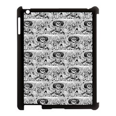 Calavera Oaxaquena by José Guadalupe Posada 1903 Apple iPad 3/4 Case (Black)