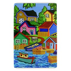 Three Boats & A Fish Table Kindle Fire Hardshell Case