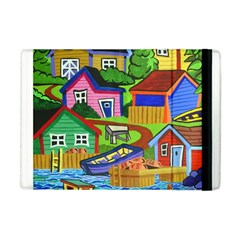 Three Boats & A Fish Table Apple iPad Mini Flip Case
