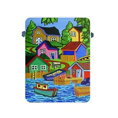 Three Boats & A Fish Table Apple iPad 2/3/4 Protective Soft Case