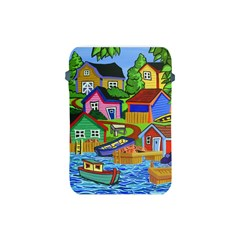 Three Boats & A Fish Table Apple iPad Mini Protective Soft Case