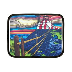 Cape Bonavista Lighthouse Netbook Case (Small)
