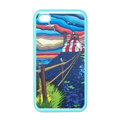 Cape Bonavista Lighthouse Apple iPhone 4 Case (Color)