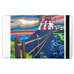 Cape Bonavista Lighthouse Apple Ipad 2 Flip Case