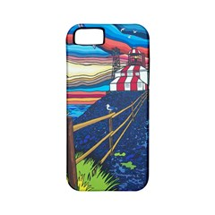 Cape Bonavista Lighthouse Apple Iphone 5 Classic Hardshell Case (pc+silicone)