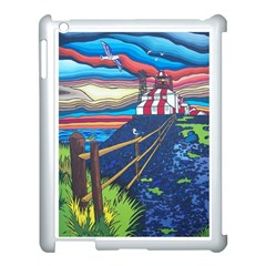 Cape Bonavista Lighthouse Apple iPad 3/4 Case (White)