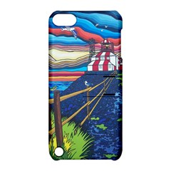 Cape Bonavista Lighthouse Apple iPod Touch 5 Hardshell Case with Stand