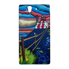 Cape Bonavista Lighthouse Sony Xperia Z L36H Hardshell Case