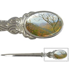 Way Above The Mountains Letter Opener