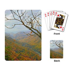 Way Above The Mountains Playing Cards Single Design
