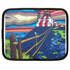 Cape Bonavista Lighthouse Netbook Case (XXL)