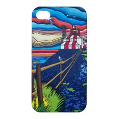 Cape Bonavista Lighthouse Apple Iphone 4/4s Hardshell Case
