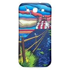 Cape Bonavista Lighthouse Samsung Galaxy S3 S III Classic Hardshell Back Case