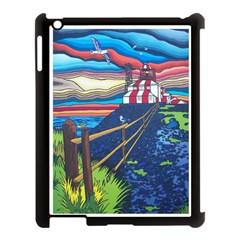 Cape Bonavista Lighthouse Apple iPad 3/4 Case (Black)