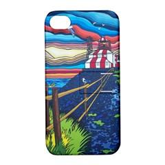 Cape Bonavista Lighthouse Apple iPhone 4/4S Hardshell Case with Stand