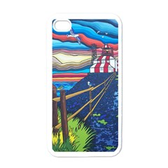 Cape Bonavista Lighthouse Apple Iphone 4 Case (white)