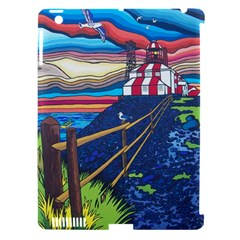 Cape Bonavista Lighthouse Apple iPad 3/4 Hardshell Case (Compatible with Smart Cover)