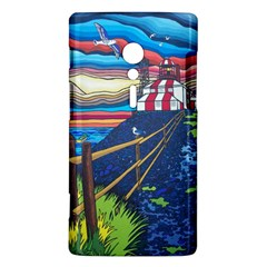 Cape Bonavista Lighthouse Sony Xperia ion Hardshell Case