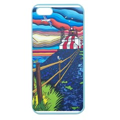 Cape Bonavista Lighthouse Apple Seamless iPhone 5 Case (Color)