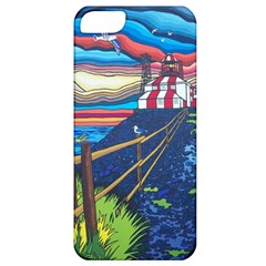 Cape Bonavista Lighthouse Apple iPhone 5 Classic Hardshell Case